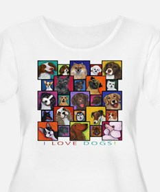 I Love Dogs! T-Shirt
