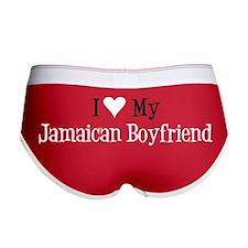 Love My Jamaican Boyfriend Women's Boy Brief