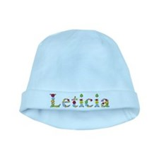 Leticia Bright Flowers baby hat