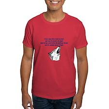 werewolf (blue writing) T-Shirt