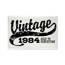 Vintage 1984 Rectangle Magnet