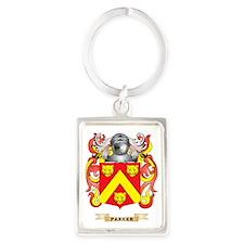 Parker Coat of Arms (Family Cres Portrait Keychain