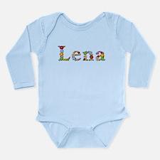 Lena Bright Flowers Body Suit