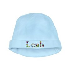 Leah Bright Flowers baby hat