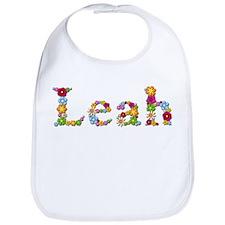 Leah Bright Flowers Bib