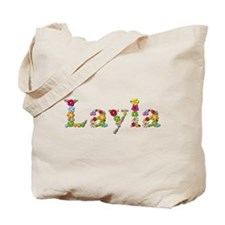 Layla Bright Flowers Tote Bag