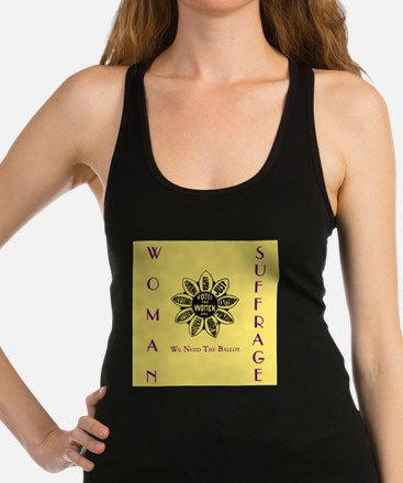 Votes For Women slogans square Tank Top