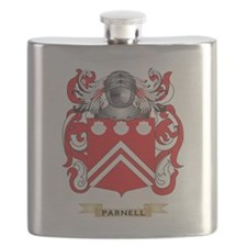 Parnell Coat of Arms (Family Crest) Flask