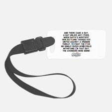 There Came a Day Luggage Tag