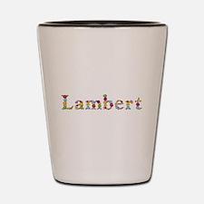 Lambert Bright Flowers Shot Glass