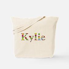 Kylie Bright Flowers Tote Bag