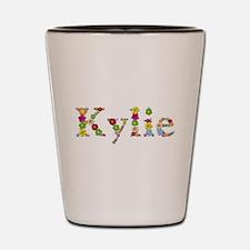 Kylie Bright Flowers Shot Glass