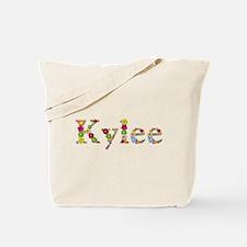 Kylee Bright Flowers Tote Bag