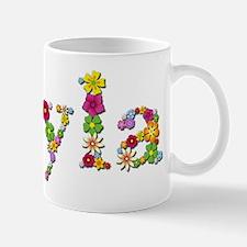 Kyla Bright Flowers Mugs