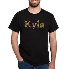 Kyla Bright Flowers T-Shirt