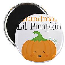 Grandmas Little Pumpkin Magnet