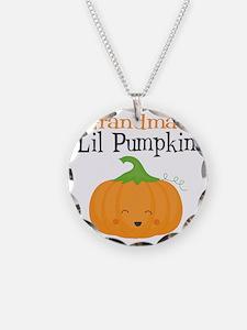 Grandmas Little Pumpkin Necklace