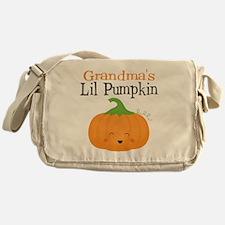 Grandmas Little Pumpkin Messenger Bag