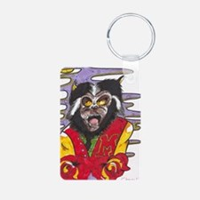 thriller Aluminum Photo Keychain