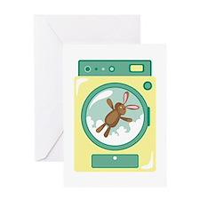 Washing Machine Greeting Cards