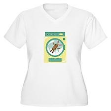Washing Machine Plus Size T-Shirt