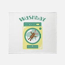 Wash Day Throw Blanket