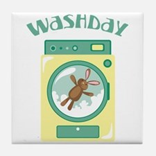 Wash Day Tile Coaster