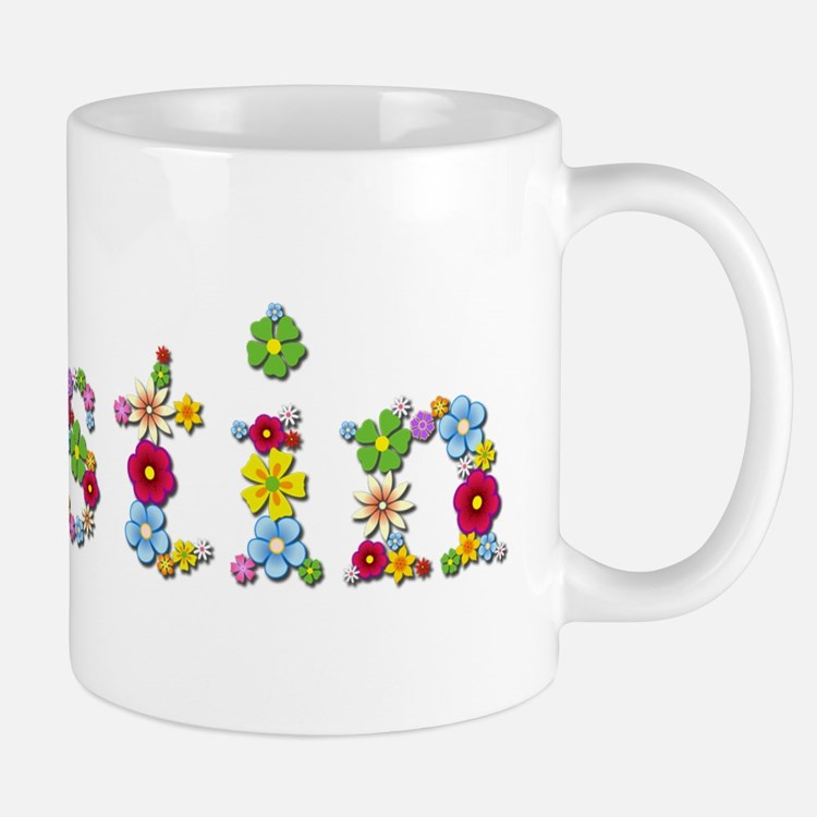 Kristin Bright Flowers Mugs