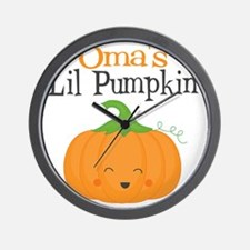 Omas Little Pumpkin Wall Clock