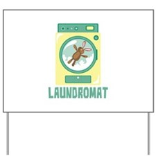 Laundromat Yard Sign