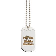 Middle Brother Monkey Dog Tags