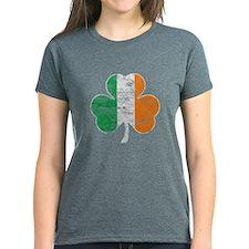 Vintage Irish Flag Shamrock T-Shirt