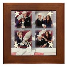 lexi and her family Framed Tile