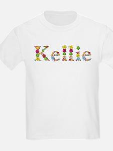 Kellie Bright Flowers T-Shirt