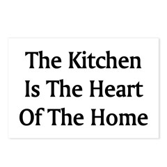 Kitchen Saying Postcards (Package of 8)