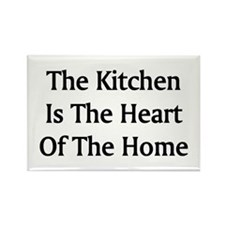 Kitchen Saying Rectangle Magnet