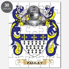 Pauley Coat of Arms (Family Crest) Puzzle