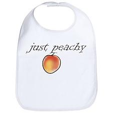 Cute Fruit peach Bib