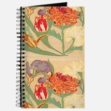 Art Nouveau Flowers Journal