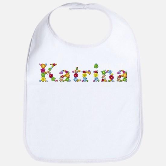 Katrina Bright Flowers Bib