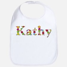 Kathy Bright Flowers Bib