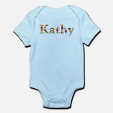 Kathy Bright Flowers Body Suit