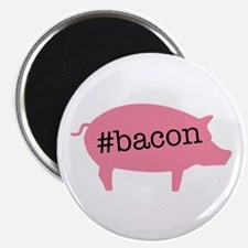 "Hashtag Bacon 2.25"" Magnet (10 pack)"