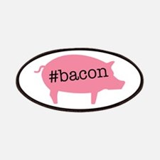 Hashtag Bacon Patches