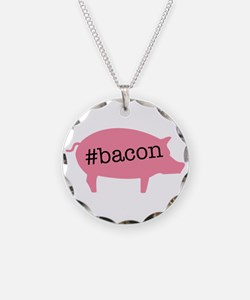Hashtag Bacon Necklace