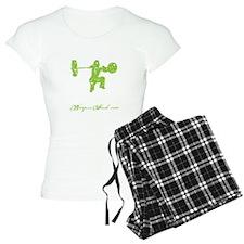 CLEAN LIKE A GIRL - LIME Pajamas
