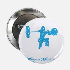 "CLEAN LIKE A GIRL - BLUE 2.25"" Button"