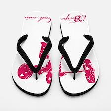 CLEAN LIKE A GIRL - PINK Flip Flops
