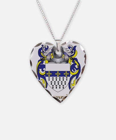 Pavlov Coat of Arms (Family C Necklace Heart Charm