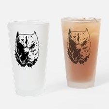 pitbull Drinking Glass